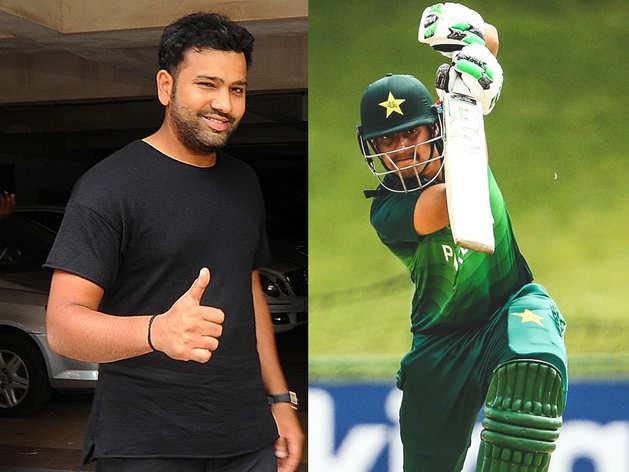 रोहित का फैन है यह पाकिस्तानी बल्लेबाज, बताई चाहत