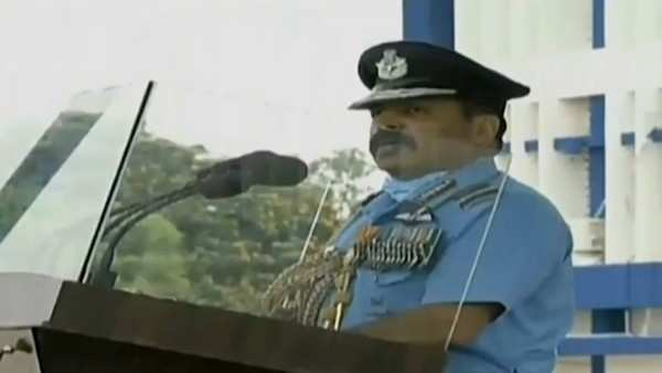 sacrifices of martyrs wont go in vain iaf chief rks bhadauria