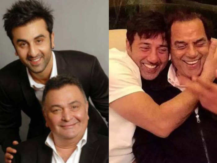 fathers day 2020 successful father son celebrity pairs of bollywood