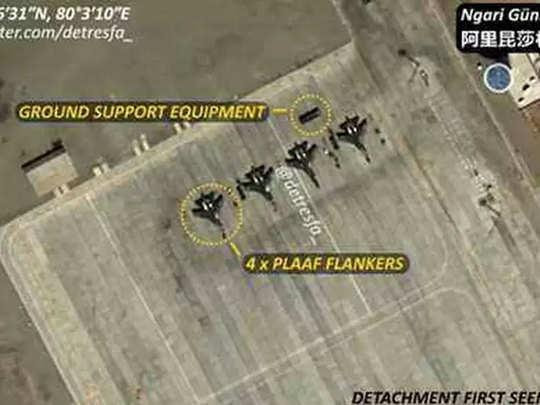 लडाख ते अरुणाचल सीमेवर चीनचे लढाऊ विमान तैनात