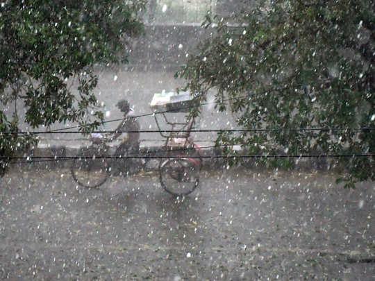मॉनसून: दिल्ली के लिए नया सिस्टम लॉन्च, बारिश में कलर कोड देखकर निकलें बाहर