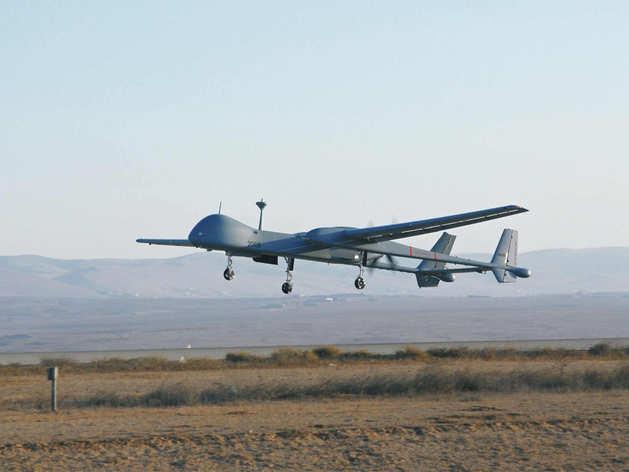 Heron ड्रोन से हो रही निगरानी (फाइल फोटो)