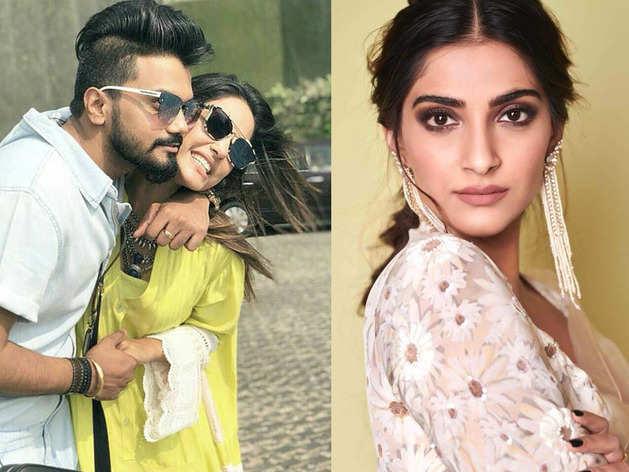 Sonam Kapoor blasted by Hina Khan beau Rocky Jaiswal