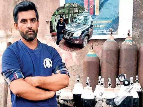 mumbai man sells suv for distribute oxygen cylinders to corona patients