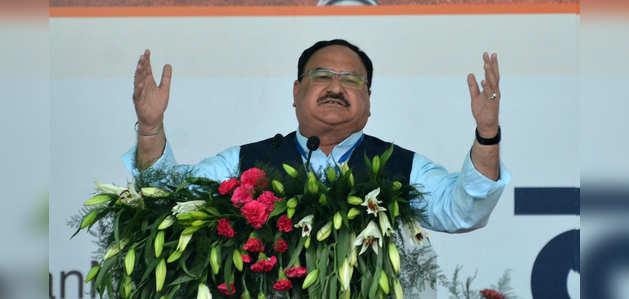 BJP अध्यक्ष जेपी नड्डा का राहुल पर हमला, एक खारिज राजवंश पूरे विपक्ष के बराबर नहीं हो सकता