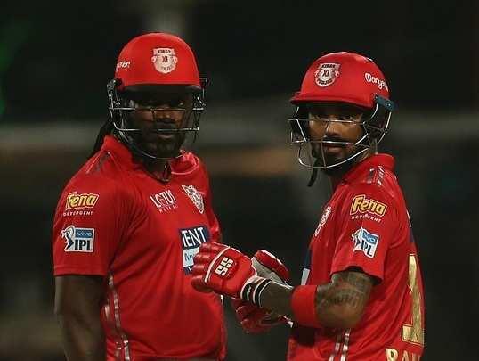 Chirs Gayle and Kl Rahul IPL