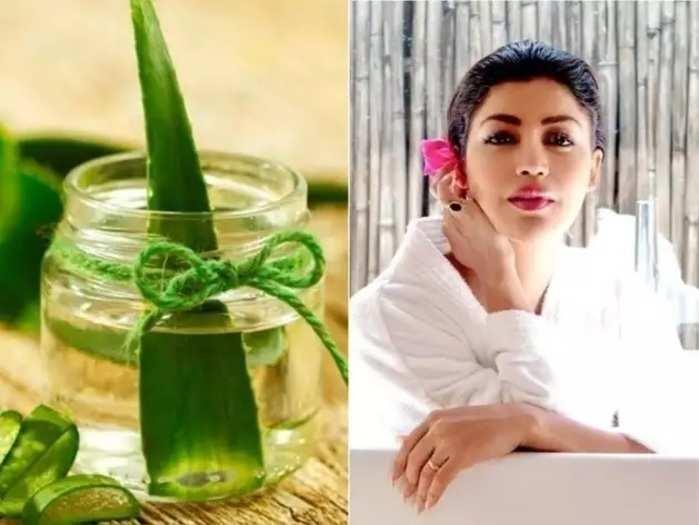 beauty tips benefits of aloe vera night cream for skin in marathi