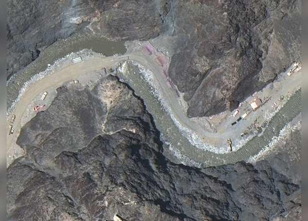 पोस्ट तक आने के लिए चीन ने बनाई सड़क