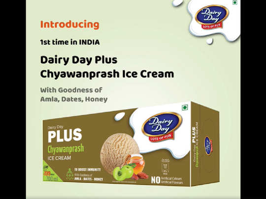 Chyawanprash ice cream
