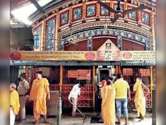 করোনা বিধি মেনেই তিন মাস পর খুলল তারকেশ্বরের মন্দির --- এই সময়