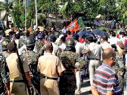 TMC sacks panchayat chiefs husband after complaint of sexual harassment lodged against him in Howrah