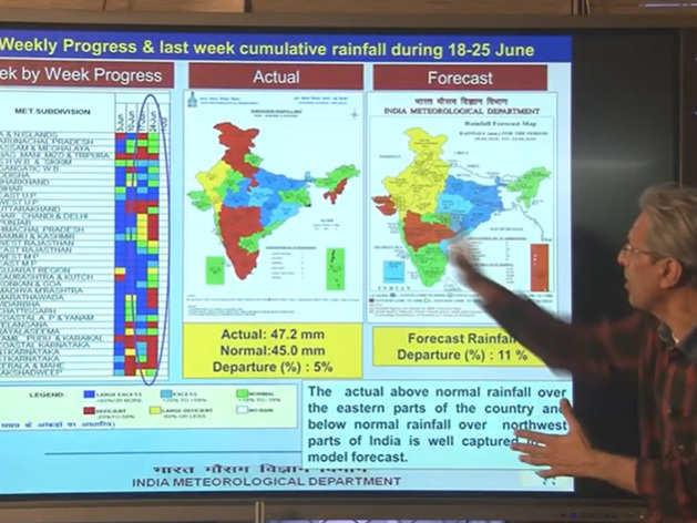 Mausam Ki Jankari: अगले 2 हफ्ते कहां-कहां बारिश, देखिए मौसम की पूरी रिपोर्ट