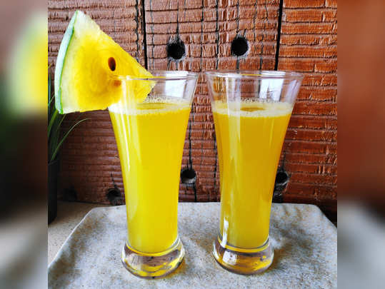 Yellow Watermelon Juice