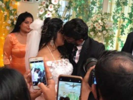 Vanitha weds Peter Paul