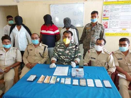 झारखंड और बंगाल में हत्याएं-लूट करने वाले गैंग का सरगना दो साथियों के साथ बोकारो में गिरफ्तार, हथियार भी बरामद