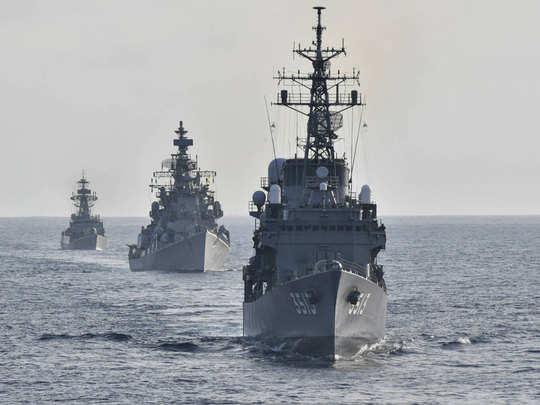 भारत-जपान नौदलाचा संयुक्त सराव
