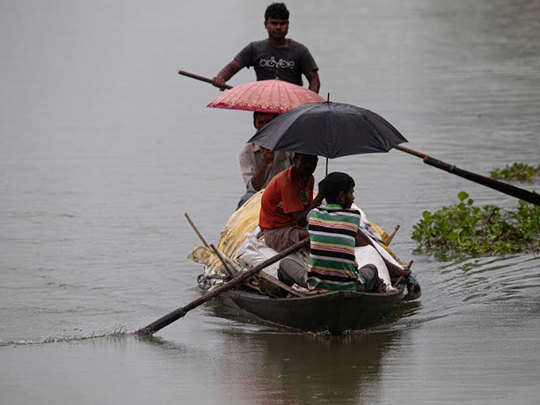 lakhs of people homeless due to flood in assam