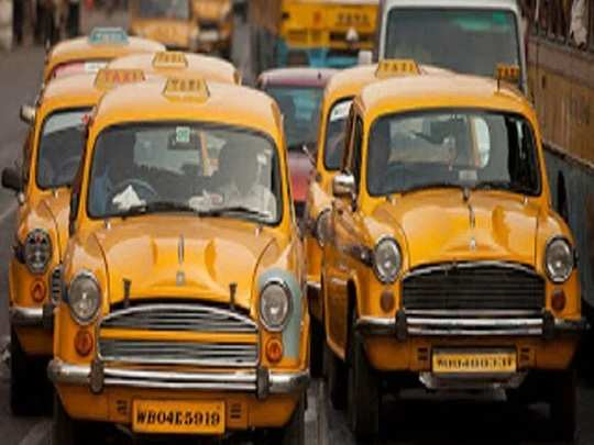 taxi union leaders of west bengal wants government subsidy like private buses