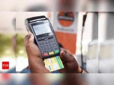 कार्ड बेस्ड ट्रांजेक्शन प्री-कोविड वॉल्यूम के 70-80 फीसदी पहुंच चुका है।