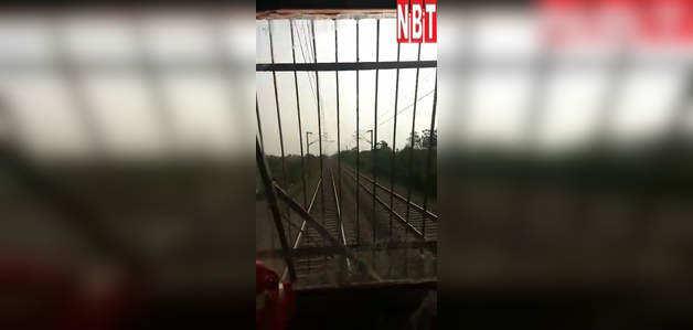 180 किलोमीटर की रफ्तार से दौड़ाई गई ट्रेन