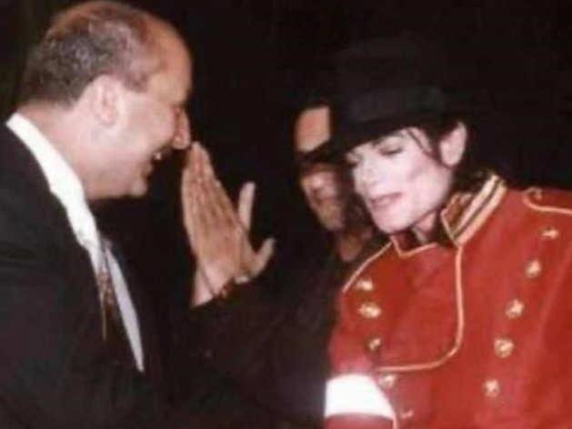 Anupam Kher with Michael Jackson