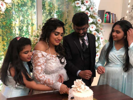 Vanitha - Peter Paul Wedding