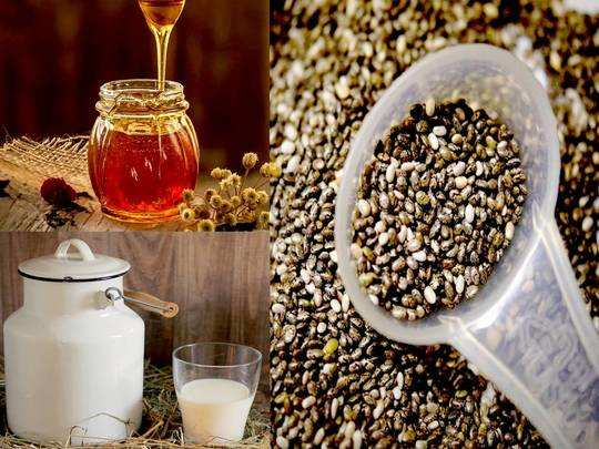 6 health benefits of chia seeds soaked with milk and honey benefits for overall health