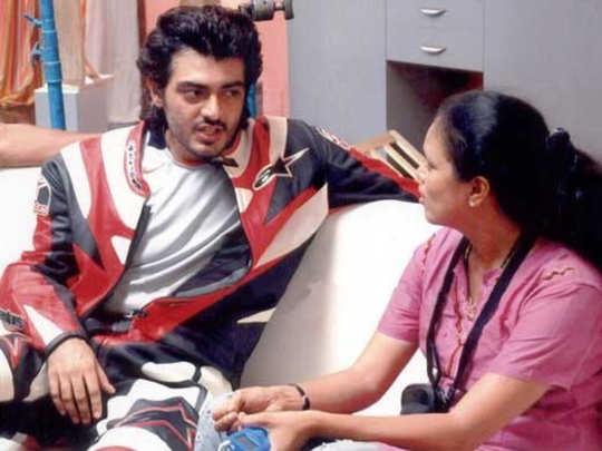 Ajith with Choreographer Brindha