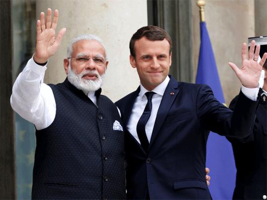 फ्रान्सची भारताला साथ
