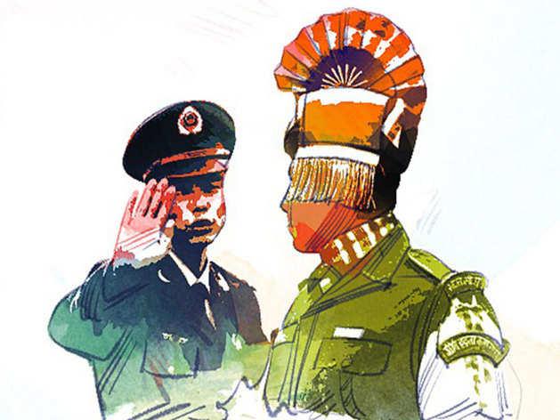 भारत और चीन के बीच लद्दाख के कई इलाकों में LAC पर तनाव है