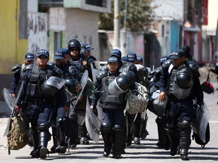 Maxico police