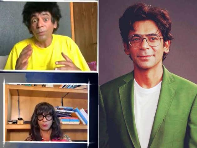 Sunil Grover video as teacher student