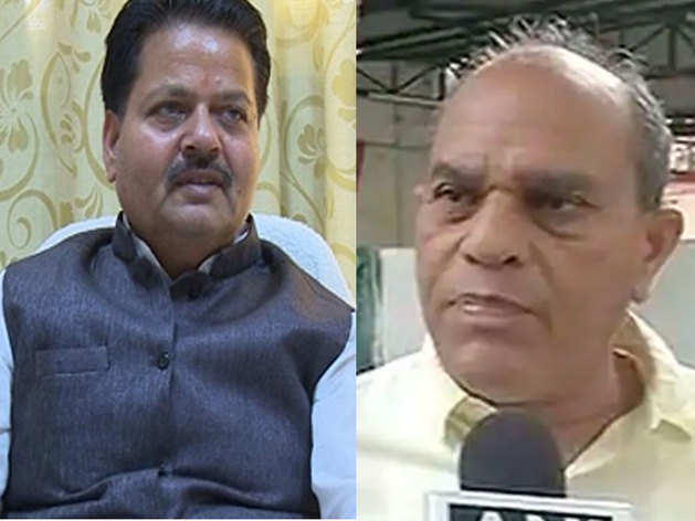 एमपी के पूर्व मंत्री रामपाल सिंह और गौरी शंकर बिसेन