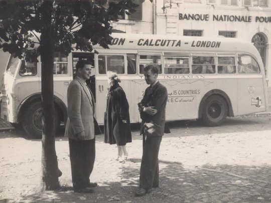 London-Calcutta bus service. PC: Facebook/ Kolkata bus-o-pedia