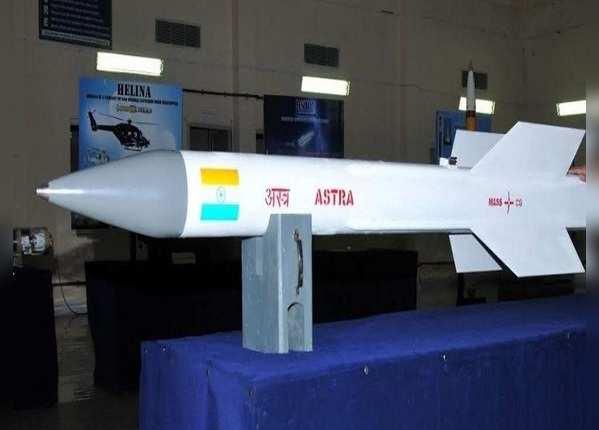 अपने साथ 15 किग्रा विस्फोटक ले जा सकती है अस्त्र मिसाइल