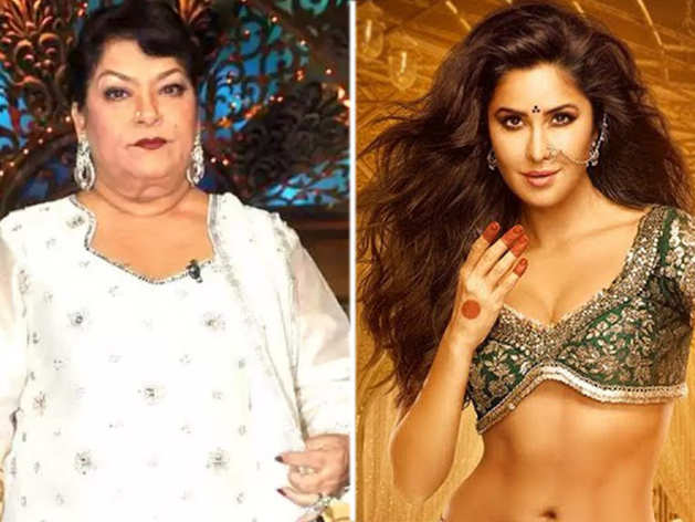 Saroj Khan And Katrina Kaif