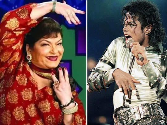 Saroj Khan And Michael Jackson