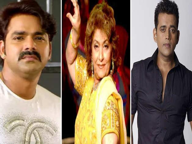 सरोज खान के निधन पर दुखी हुआ भोजपुरी सिनेमा, स्टार्स ने सोशल मीडिया पर किए पोस्ट