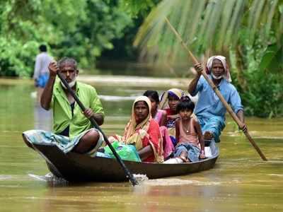असम बाढ़ (फाइल फोटो)