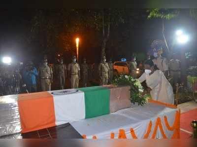 शहीद कुलदीप उरांव का पार्थिव शरीर पहुंचा रांची, राज्यपाल-CM हेमंत सोरेन ने दी श्रद्धांजलि
