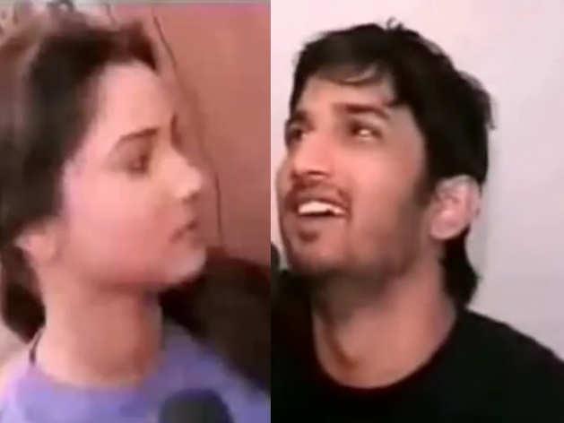 throwback video of Sushant Singh Rajput and Ankita