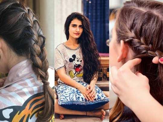 Braiding promotes hair growth