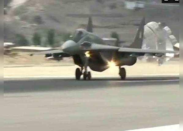 मिग-29 का भी ऑपरेशन