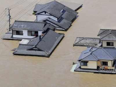 जापान में बाढ़