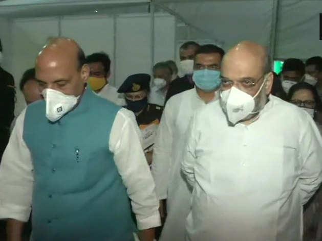 सिर्फ 12 दिन में DRDO ने बनाया 1000 बिस्तरों वाला कोविड अस्पताल, देखने पहुंचे राजनाथ-शाह