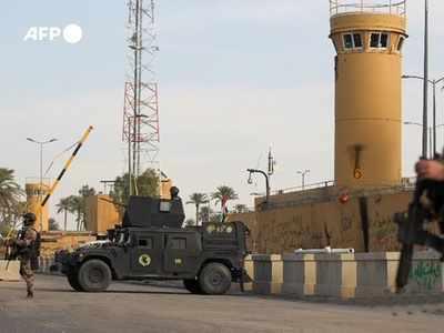दूतावास पर हमले के बाद बढ़ी सुरक्षा
