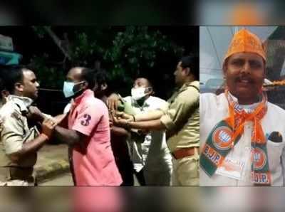 वाराणसी: मास्क न पहनने पर बीजेपी नेता और पुलिसवालों में हुआ था विवाद, 6 पुलिसकर्मी सस्पेंड