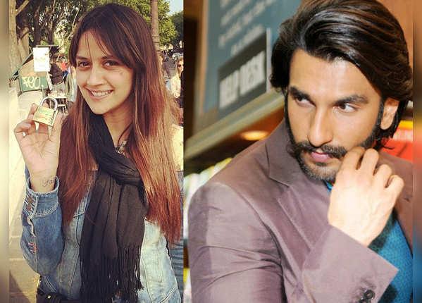 Ahana Deol and Ranveer Singh