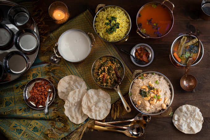 South Indian Traditional Meal