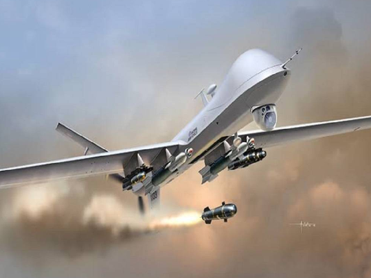 china to give attack drones to pakistan america will give india predator b drones